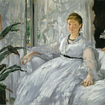 Mme. Manet and her son, Édouard Manet