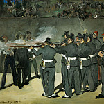 Édouard Manet - The Execution of the Emperor Maximilian