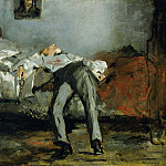 The Suicide, Édouard Manet