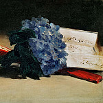 The Bunch of Violets, Édouard Manet