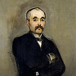 Portrait of Clemenceau, Édouard Manet