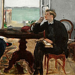 Interieur in Arcachon, Édouard Manet