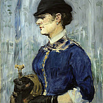 Édouard Manet - Young Woman in a Round Hat