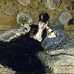 Woman with Fans , Édouard Manet