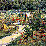 The garden of Manet, Édouard Manet