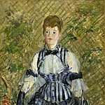 Woman in Evening Dress, Édouard Manet
