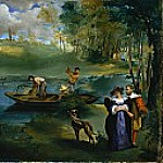 Fishing, Édouard Manet