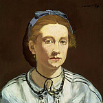 Portrait of Victorine Meurent, Édouard Manet
