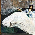 Woman with a Fan, Édouard Manet