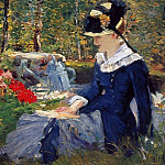 Édouard Manet - Young Woman in the Garden