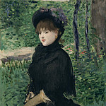 The Promenade, Édouard Manet