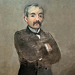 Édouard Manet - Portrait of Clemenceau