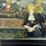 Édouard Manet - A Bar at the Folies-Bergere (Study)