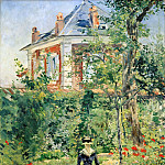 In the Garden of Bellevue, Édouard Manet