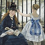 The Railway, Édouard Manet