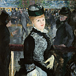 Skating, Édouard Manet