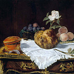 Édouard Manet - The Brioche