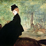 The Horsewoman, Édouard Manet