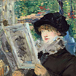 Woman Reading, Édouard Manet