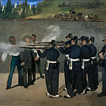 Execution of Emperor Maximilian of Mexico, June 19, 1867, Édouard Manet