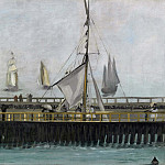The Pier at Boulogne, Édouard Manet