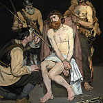 Édouard Manet - Jesus Mocked by the Soldiers