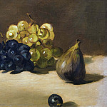 Grapes and fig, Édouard Manet