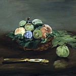 Basket of Fruit, Édouard Manet
