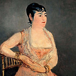 Lady in Pink, Édouard Manet