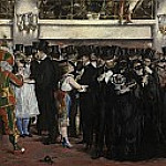 Masked Ball at the Opera, Édouard Manet