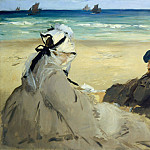 On the Beach, Édouard Manet