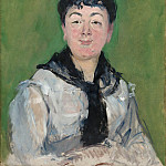 Édouard Manet - Portrait of a Woman with a Black Fichu