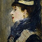 Portrait of a Lady, Édouard Manet