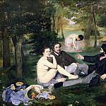 Luncheon on the Grass, Édouard Manet
