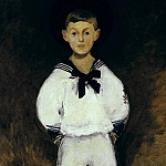 Henry Bernstein as a child, Édouard Manet