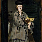 Édouard Manet - The Street Singer