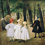 Children in the Tuileries, Édouard Manet