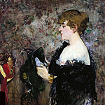 At The Milliners, Édouard Manet