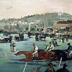 Édouard Manet - The Races in the Bois de Boulogne