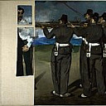The Execution of Maximilian, Édouard Manet
