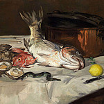 Still Life with Fish, Édouard Manet