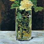 Roses and Tulips, Édouard Manet