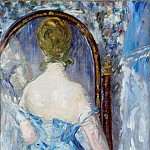 Before the Mirror, Édouard Manet