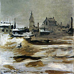 Édouard Manet - Effect of Snow on Petit-Montrouge