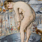 The Tub, Édouard Manet