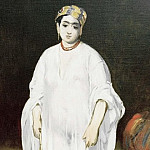 Young woman wearing oriental dress , Édouard Manet