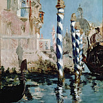 Édouard Manet - The Grand Canal, Venice