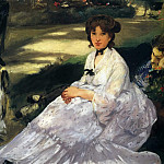 In the Garden, Édouard Manet