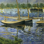 Édouard Manet - The Seine at Argenteuil