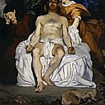 Édouard Manet - The Dead Christ with Angels